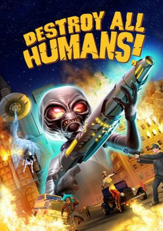 Destroy All Humans! (video game) - Image: Destroy All Humans box art for the Play Station 2