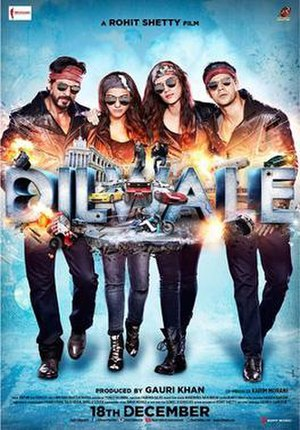 Dilwale (2015 film) - Theatrical release poster