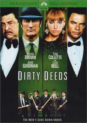 Dirty Deeds (2002 film) - Image: Dirty Deeds film