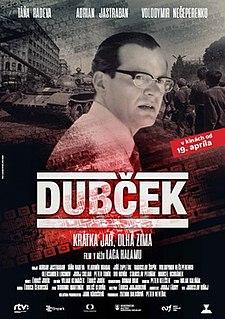 <i>Dubček</i> (film) 2018 Slovak historical film
