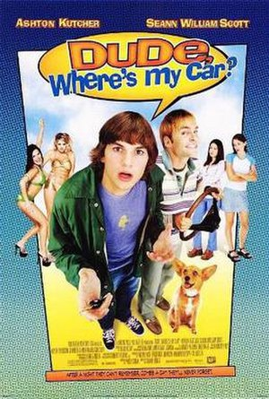 Dude, Where's My Car? - Theatrical release poster