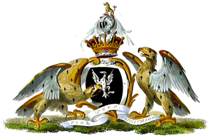 Sackville Tufton, 9th Earl of Thanet - Arms of the Earls of Thanet