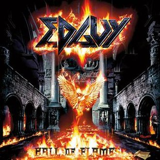 Hall of Flames - Image: Edguy Hallof Flames Front