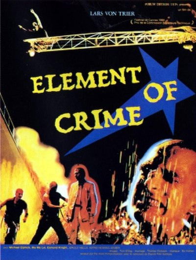 Picture of a movie: The Element Of Crime