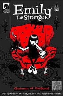Emily the Strange fictional human