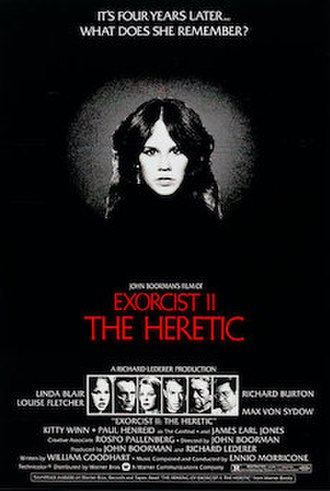 Exorcist II: The Heretic - Theatrical release poster