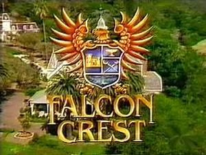 Falcon Crest - Main title card (season 8)