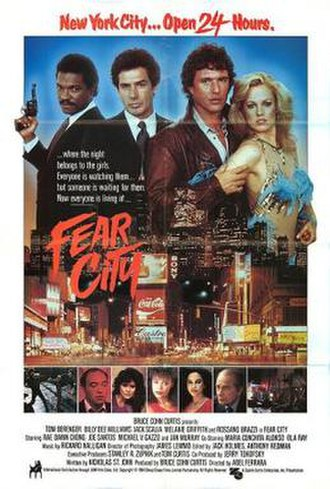 Fear City - Film poster