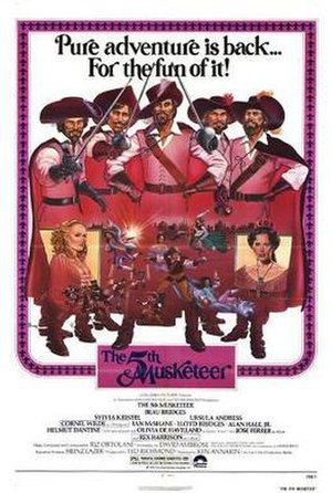 The Fifth Musketeer - Promotional film poster