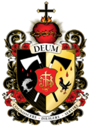 College of Saints John Fisher & Thomas More - Image: Fisher More College crest