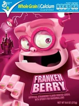 Monster cereals - Image: Frankenberrycereal