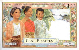 currency of French Indochina between 1885 and 1952