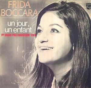 Un jour, un enfant - Image: Frida Boccara Un jour, un enfant