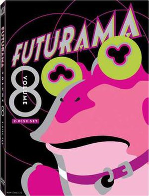 Futurama (season 7) - Image: Futurama Volume 8