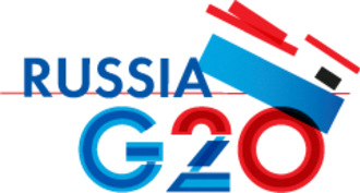 2013 G20 Saint Petersburg summit - Logo of the G20 Russia 2013 summit