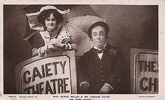Gertie Millar - Millar and Edmund Payne in The Spring Chicken