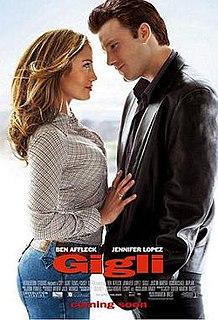 <i>Gigli</i> 2003 film by Martin Brest