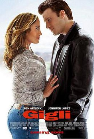 Gigli - Theatrical release poster