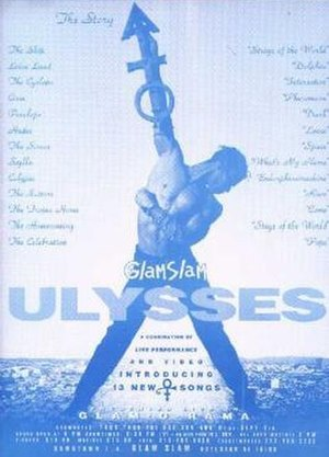 Glam Slam Ulysses - Poster for Glam Slam Ulysses