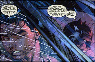 All Star Batman & Robin, the Boy Wonder - Image: Goddamn Batman