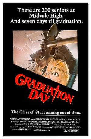 Graduation Day (film) - Theatrical release poster