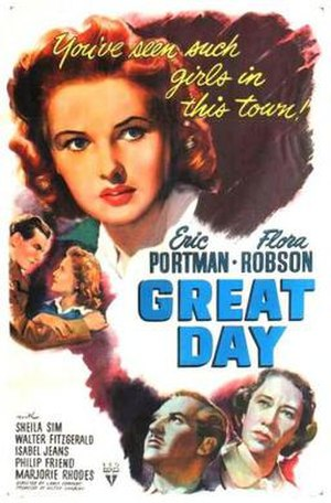 Great Day (1945 film) - Theatrical release poster
