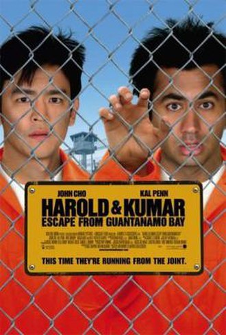Harold & Kumar Escape from Guantanamo Bay - Theatrical release poster