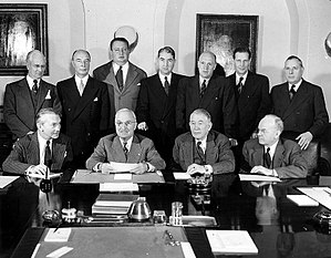 Presidency of Harry S. Truman - Truman's Cabinet, 1949