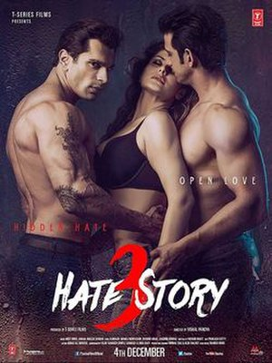 Hate Story 3 - Theatrical release poster