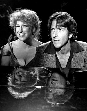 Dustin Hoffman - With Bette Midler on the Bette Midler TV special (1977)