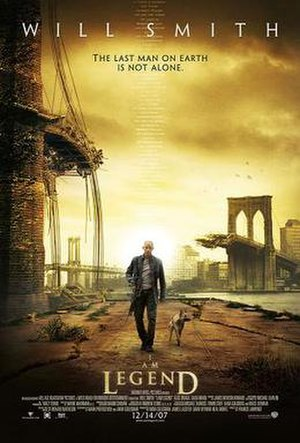I Am Legend (film) - Theatrical release poster