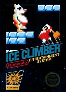 <i>Ice Climber</i> 1985 video game for the Nintendo Entertainment System
