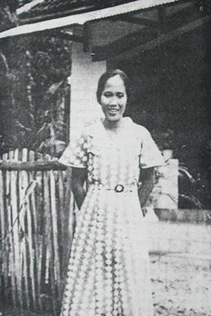 Amir Hamzah - Ilik Sundari, photographed by Amir; she has widely been credited as his muse.