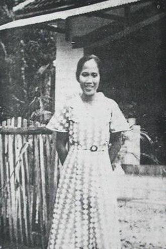 Amir Hamzah - Ilik Sundari, photographed by Amir; she has widely been credited as his muse.