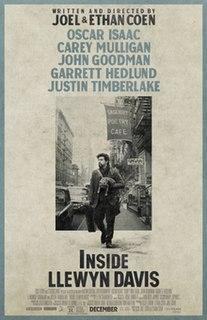 <i>Inside Llewyn Davis</i> 2013 film by Coen brothers