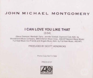 I Can Love You Like That - Image: JMM Love You single