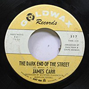 The Dark End of the Street - Image: James Carr The Dark End of the Street