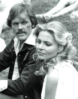 The Time Machine (1978 film) - John Beck as Dr. Neil Perry and Priscilla Barnes as Weena
