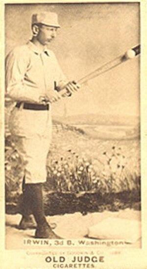 John Irwin (baseball) - Image: John Irwin baseball
