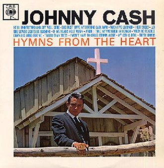 Hymns from the Heart - Image: Johnny Cash Hymns From The Heart