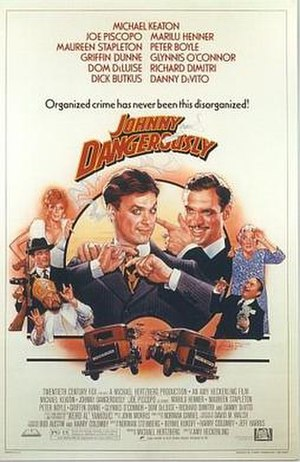 Johnny Dangerously - Theatrical release poster by Drew Struzan
