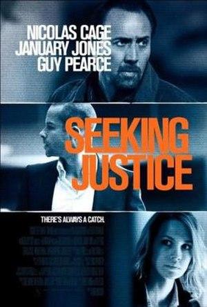 Seeking Justice - International teaser poster