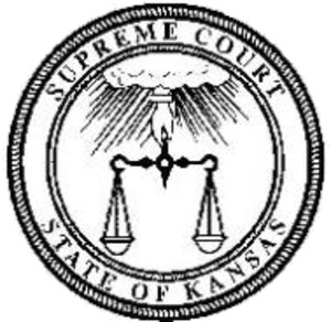 Seal of Kansas - Image: Kansas Supreme Court seal