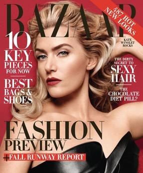 Kate Winslet June-July 2014 HB Cover