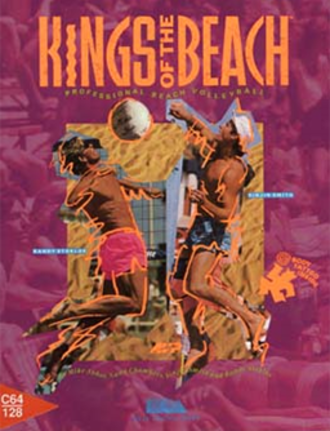 Kings of the Beach - Commodore 64 cover art