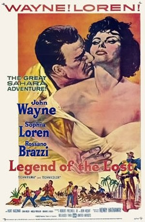 Legend of the Lost - 1957 movie poster
