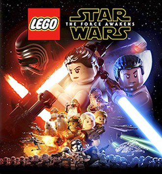 Lego Star Wars: The Force Awakens - Cover art for Lego Star Wars: The Force Awakens