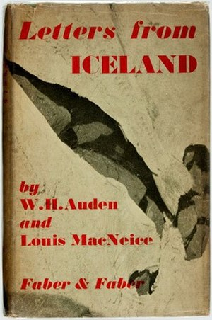 Letters from Iceland - First edition