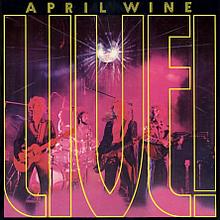 Live April Wine Album Wikipedia