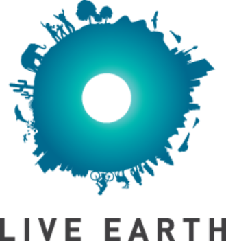 """Live Earth - The Live Earth logo representing the """"S.O.S."""" message."""
